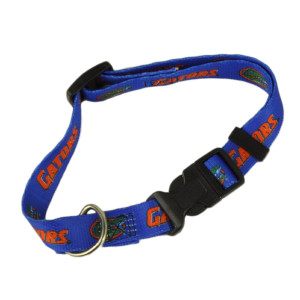 NCAA Florida Gators Collar Medium Adjustable Clip On Hunter Dog Blue Pet Fan