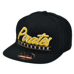 MLB American Needle Pittsburgh Steelers Snapback Flat Bill Hat Sport Scripter