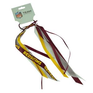 NFL Washington Redskins Hair Bow Red Game Day Women Accessories 6 Piece Hair Set