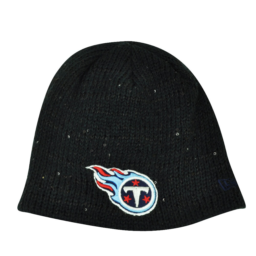 61d1296392c NFL New Era The Glistener Tennessee Titans Sequins Cuffless Womens ...