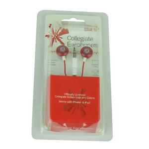 NCAA Alabama Crimson Tide Dynamic Sound Earphones Headphones Music Microphones