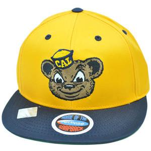 NCAA Cal Berkeley California Golden Bears Eclipse SnapBack Flat Bill Hat Cap