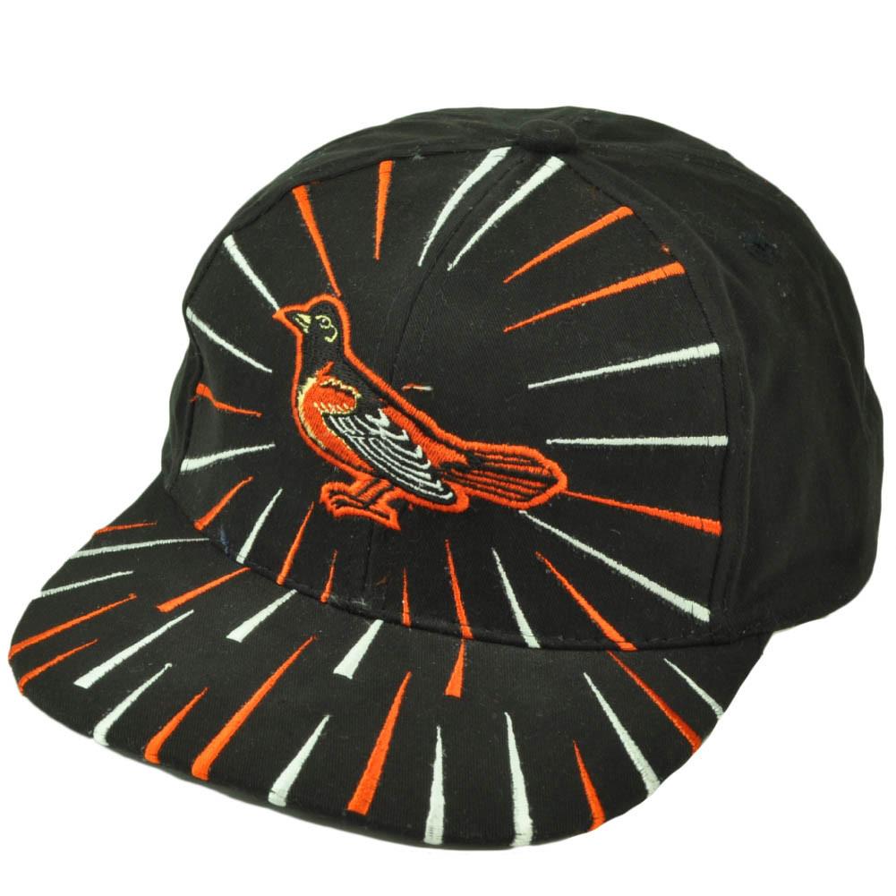 9653cd12df5d8 Baltimore Orioles Deadstock Vintage Snapback Hat Cap Baseball Burst ...