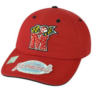 NCAA Maryland Terrapins Terps Women Ladies Rhinestone Bedazzled Bling Hat Cap