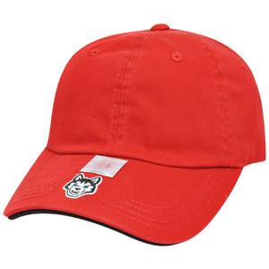NCAA American Needle Northeastern Huskies Flambam Garment Wash Womens Hat Cap