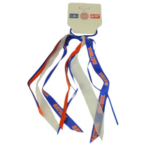 NCAA Florida Gators Hair Tide Ribbons Team Pride Spirit Blue Orange Game Day Fan