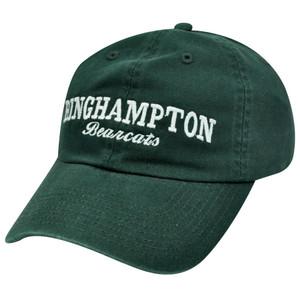 NCAA BINGHAMPTON BEARCATS GARMENT WASHED COTTON HAT CAP