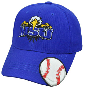 NCAA Top of The World Construct Hat Cap Morehead State Eagles Velcro Adjustable