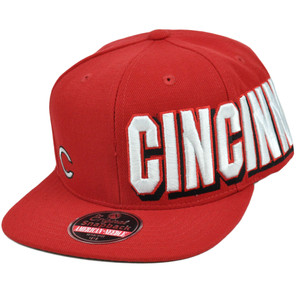 MLB Cincinnati Reds Original Snapback Flat American Needle Blindside Hat Cap