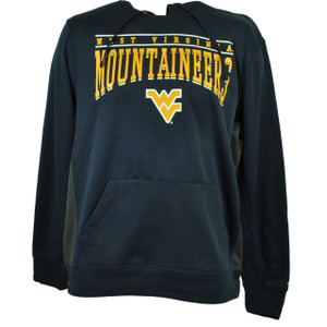 NCAA Colosseum West Virginia Mountaineers Hoodie Navy Blue Mens Sweater Fleece