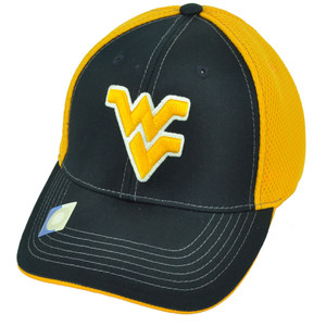 NCAA West Virginia Mountaineers Navy Blue Yellow Snapback Hat Cap Football