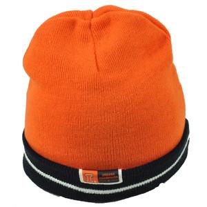 best sneakers 7d515 a040d NCAA Illinois Illini Orange Navy Blue Knit Beanie Reversible Cuffed Toque  Hat