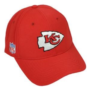 Kansas City Chiefs Reebok Red Hat Cap Adjustable Mens Curved Bill Football
