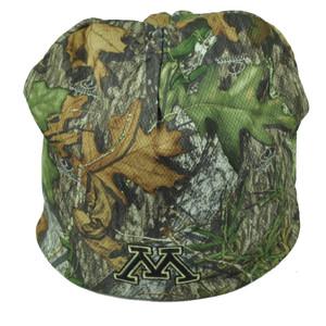 NCAA Minnesota Golden Gophers Mossy Oak Camouflage Camo Cuffless Knit Beanie