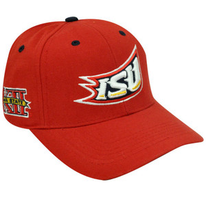 NCAA IOWA STATE CYCLONES ISU CY BIG 12 RED WOOL HAT CAP