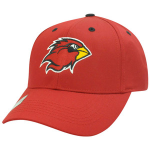 NCAA Louisville Cardinals Cards Twill Cotton Adjustable Velcro Plain Red Hat Cap