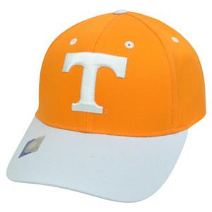 NCAA Tennessee Volunteers Twill Curved Bill Two Tone Snapback Adjustable Hat Cap