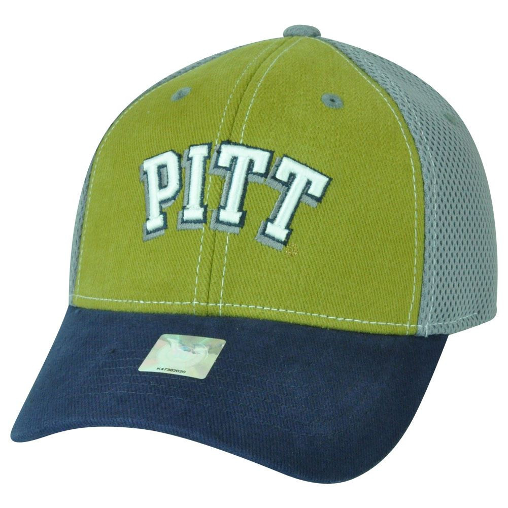 628acb1e80d NCAA Pittsburgh Panthers Curved Bill Mesh Collegiate Adjustable ...