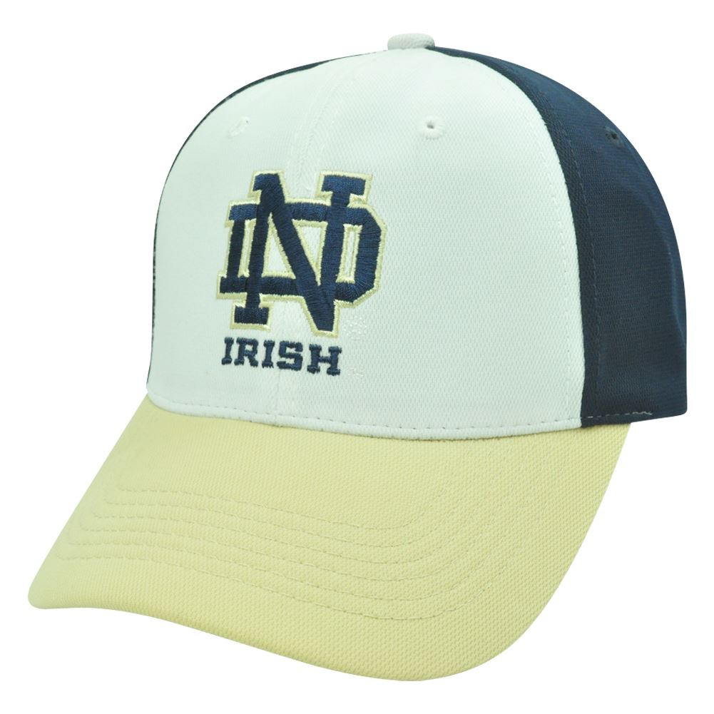 c79b1452e28 NCAA Notre Dame Fighting Irish Velcro Polyester Adjustable ...