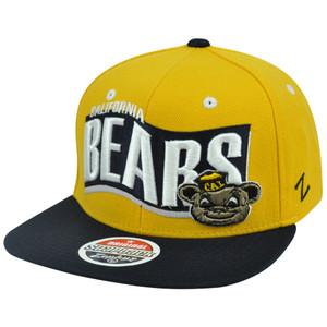 NCAA Colorado State Rams Zephyr Flat Bill Adjustable Snapback Rally Hat Cap