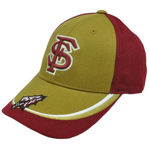 NCAA Florida State Seminoles Adjustable Nickel Unbrush Velcro Curved Bill Cotton