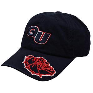 NCAA Gonzaga Bulldogs Tommy D Garment Wash Adjustable Sun Buckle Hat Cap Slouch