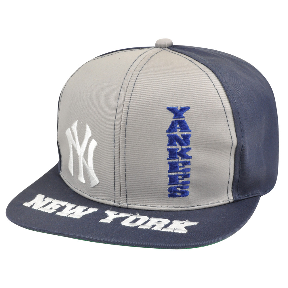 MLB New York Yankees Snapback Flat Bill Old School Vintage Hat Cap ... 1e1815e98a25
