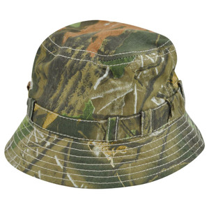 Camouflage Camo Sun Bucket Hunting One Size Outdoors Hat Camping Fishing Green