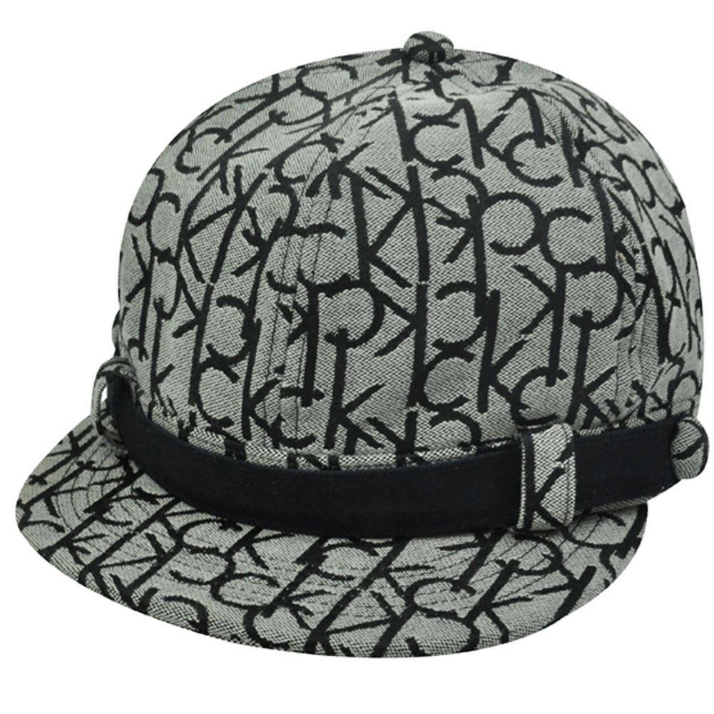CALVIN KLEIN NEWSBOY SHORTY CAP APPLE HAT GATSBY BLACK - Cap Store ... 19893ce2d55