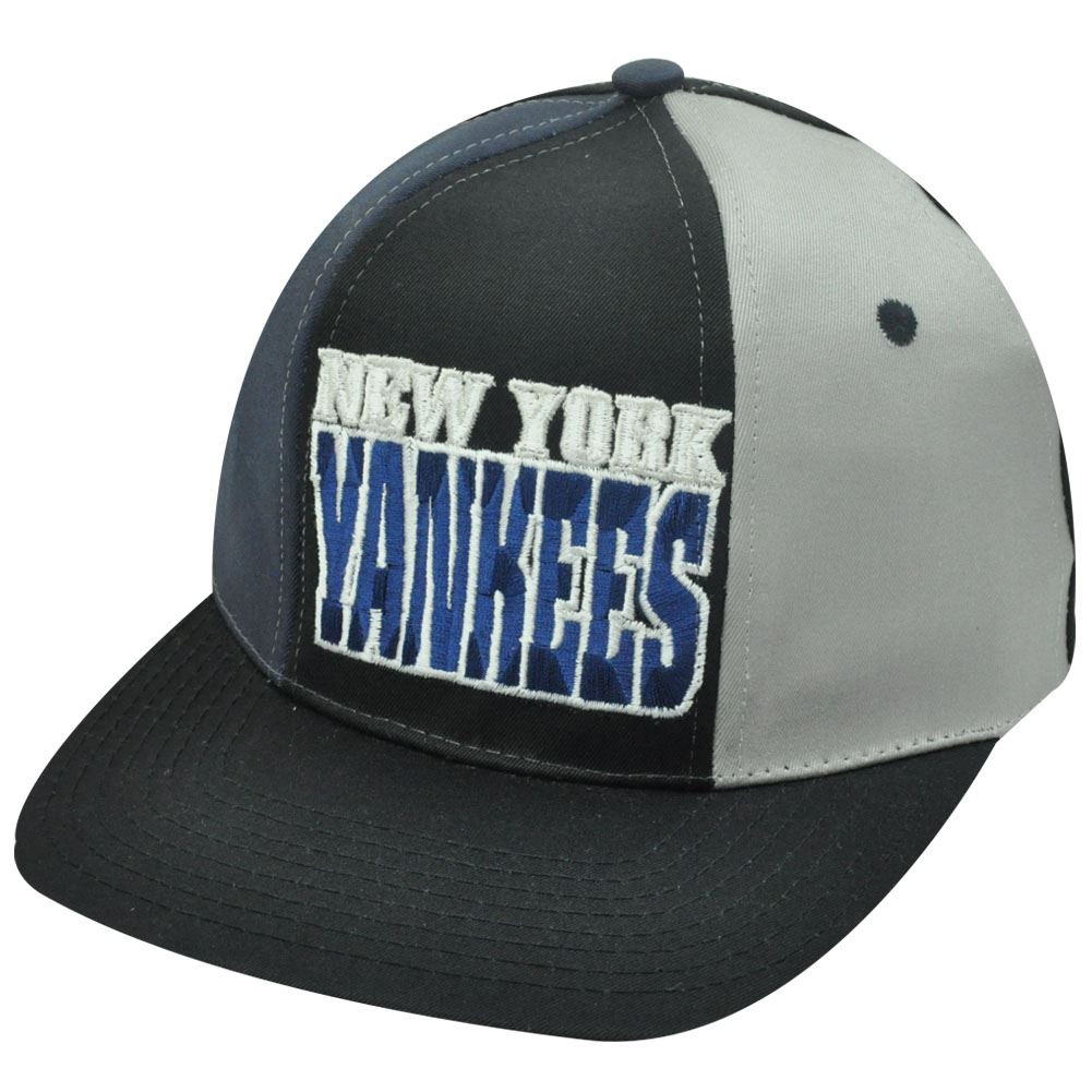 32deb95a77136 MLB NEW YORK YANKEES SNAPBACK FLAT BILL OLD SCHOOL HAT - Cap Store ...