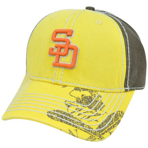 MLB San Diego Padres Pro Stitch American Needle Vintage Washed Cotton Hat Cap