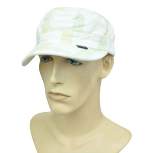 Brand Peter Grimm Garment Wash Plaid Fatigue Military Fitted Large Hat Cap