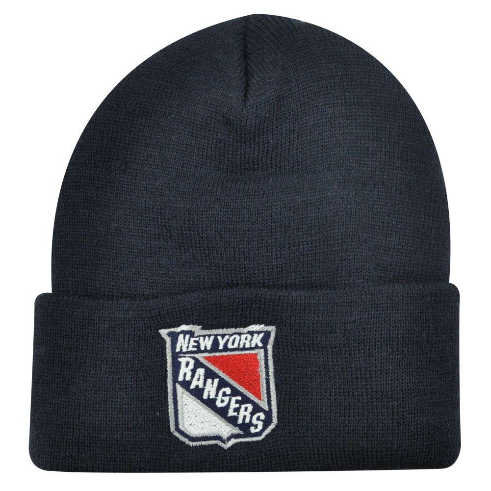 30a79c70b29 BEANIE KNIT HAT CAP NEW YORK RANGERS YOUTH KIDS BLUE - Cap Store Online