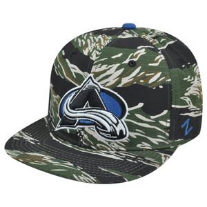 NHL Colorado Avalanche Zephyr Urban Jungle Fever Adjustable Snapback Hat Cap