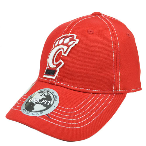 the best attitude 59f1d 63003 ... low cost cincinnati bearcats uc applique patch hat cap ncaa flex fit  stretch top world 4d257