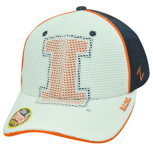 NCAA ILLINOIS FIGHTING ILLINI FLEX FIT YOUTH HAT CAP