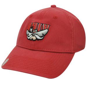 NCAA OFFICIAL NEVADA REBELS RED CAP HAT FLEX FIT NEW