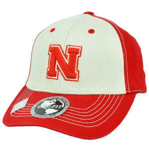 Nebraska Cornhuskers NCAA Top Of The World Flex Fit One Size Fits Most Hat Cap