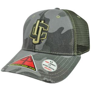 NCAA Uconn Connecticut Huskies Deliverance Pro Pocket Camo Flex Fit Hat Cap M/L