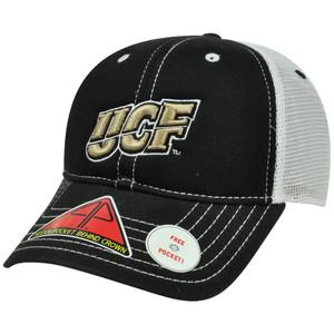 NCAA Central Florida Knights Hat Cap Pro Pocket Mesh Flex Fit Cool Comfort M/L