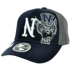 NCAA Top of the World North Carolina Wolfpack One Size Flex Stretch Fit Cap Hat