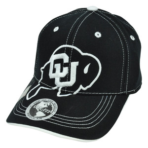 NCAA Top of The World Hat Cap Flex Fit Stitches Constructed Colorado Buffaloes