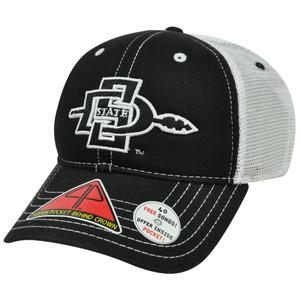 NCAA San Diego Aztecs Hat Cap Pro Pocket Mesh Flex Fit Cool Comfort Stretch M/L
