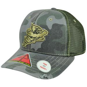 NCAA Iowa State Cyclones Deliverance Pro Pocket Camouflage Flex Fit Hat Cap M/L