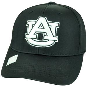 NCAA Auburn Tigers Top of the World Flex Fit S/M Stretch Hat Cap Black Hat Cap