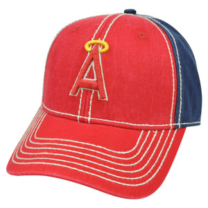 MLB California Angels Pro Stitch American Needle Vintage Washed Cotton Hat Cap