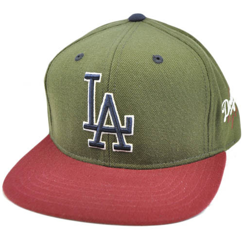 f802c434df2 MLB LA Los Angeles Dodgers American Needle Blockhead Earthtone ...