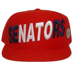 MLB WASHINGTON SENATORS FLAT BILL FITTED HAT CAP 7 3/8
