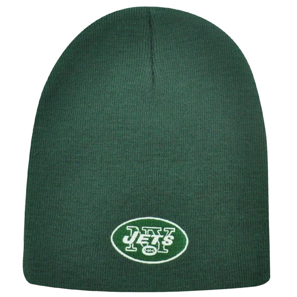 2fa43def6a8 NFL CUFFLESS BEANIE KNIT HAT NEW YORK JETS GREEN NEW - Cap Store Online