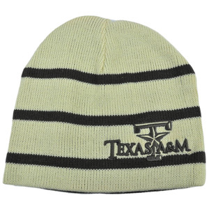 NCAA Texas A&M Aggies Top Of World Mocha Reversible Knit Beanie Skully Hat Cap